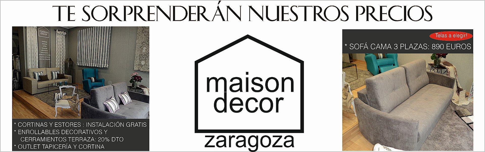 banner sofa enrollables estores cerramientos maison decor zaragoza ofertas mayo